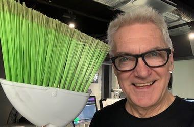 John and a broom