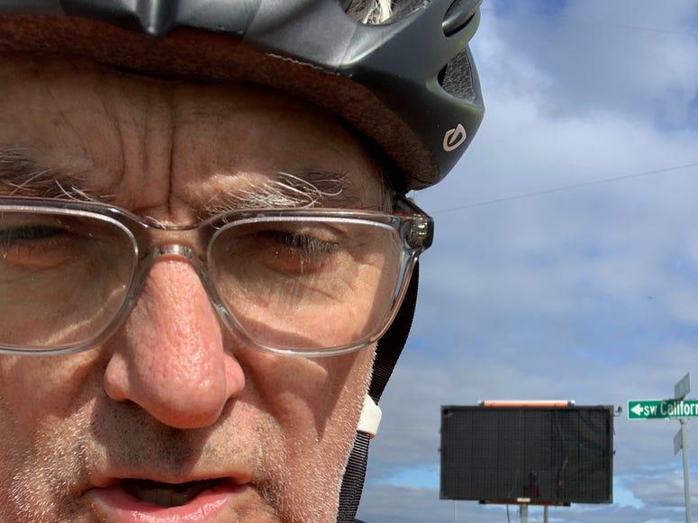 Me on a bike