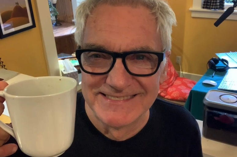 John and his coffee