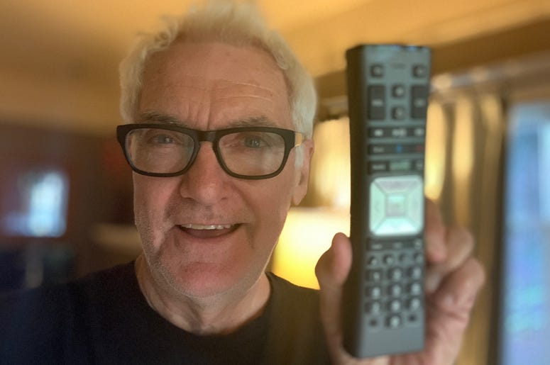 John and his remote