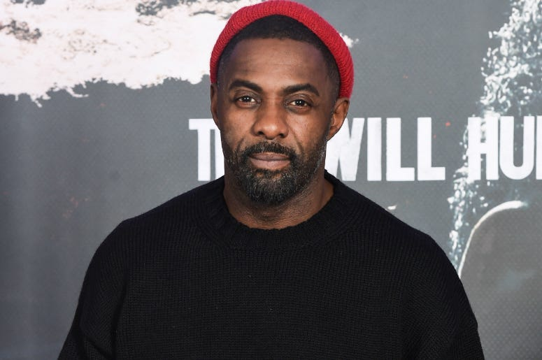 Idris Elba during a photocall for BBC's Luther series 5 at the Courthouse Hotel in Shoreditch, London.