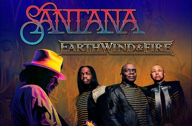 Santana and Earth Wind and Fire