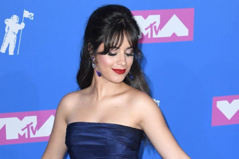 Camila Cabello arriving at the MTV Video Music Awards 2018, Radio City, New York.