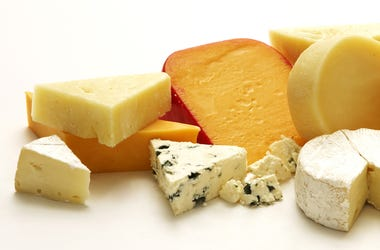 A whole bunch of cheese