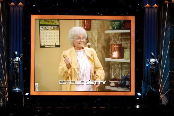 Estelle Getty on TV