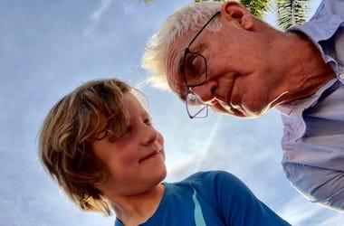 John & his son Dawson