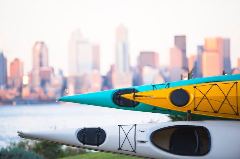 Kayaks in Seattle