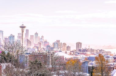 Seattle in the snow