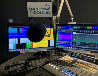 Screens in the Sound studio