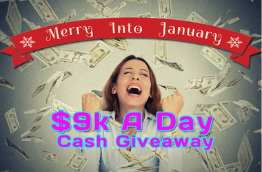 $9K A Day Cash Giveaway