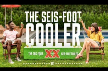 Dos Equis Sens Foot Cooler Giveaway