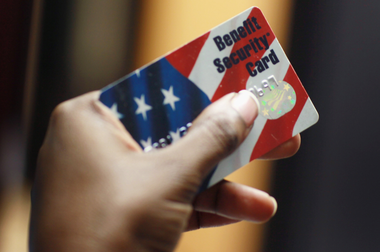 Food Stamp Benefit Card