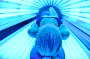 Tanning Bed UV light