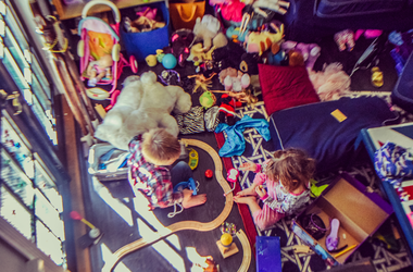 toddler room with toys