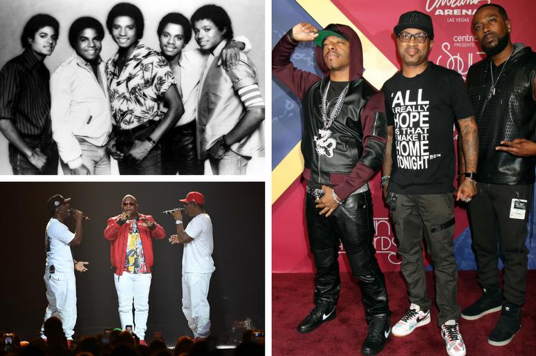 File Photo: The Jacksons / Boyz II Men perform at the Hard Rock Live / Dru Hill 2016 Soul Train Awards