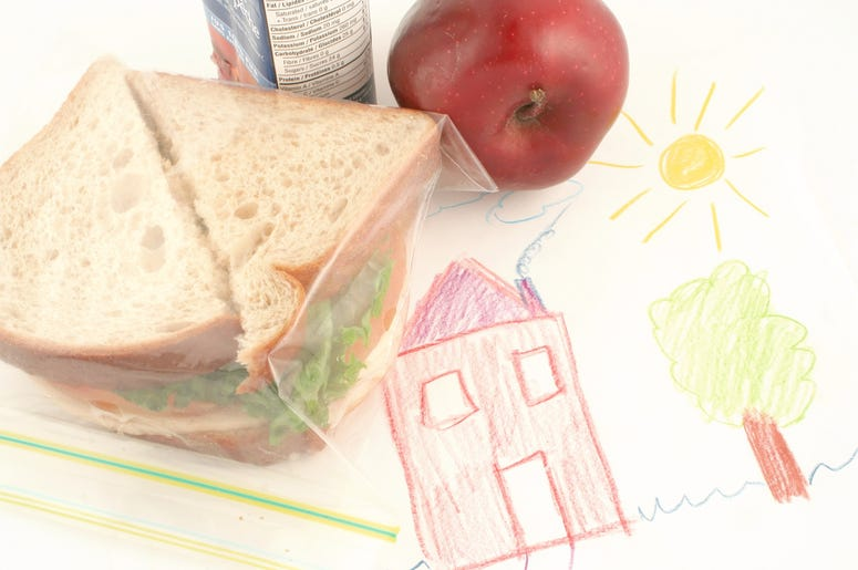 Dad Packs Lunch