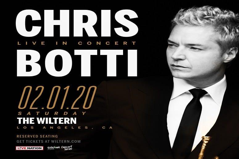 Chris Botti at The Wiltern