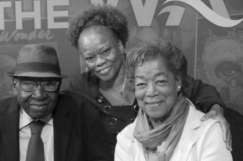 Helen and Bob Singleton civil rights activists on Los Angeles' 94.7 the wave