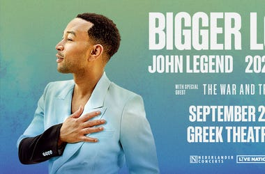 John Legend Bigger Love Tour Los Angeles