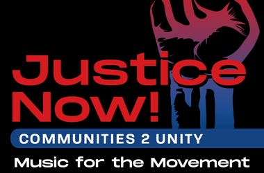 Justice Now Music for the Movement
