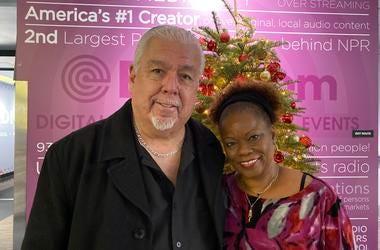 Rudy Salas and Pat Prescott