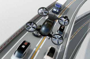 Uber,Uber Air,Flying Taxi,Aircraft,First,New,Prototype,CBS,CEO,Dara Khosrowshahi,Plane,Drone,Video,ALT 103.7