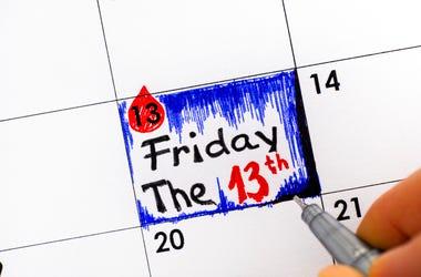 Friday the 13th calendar