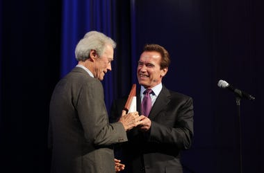 Clint Eastwood and Arnold Schwarzenegger