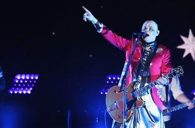 Billy Corgan from The Smashing Pumpkins