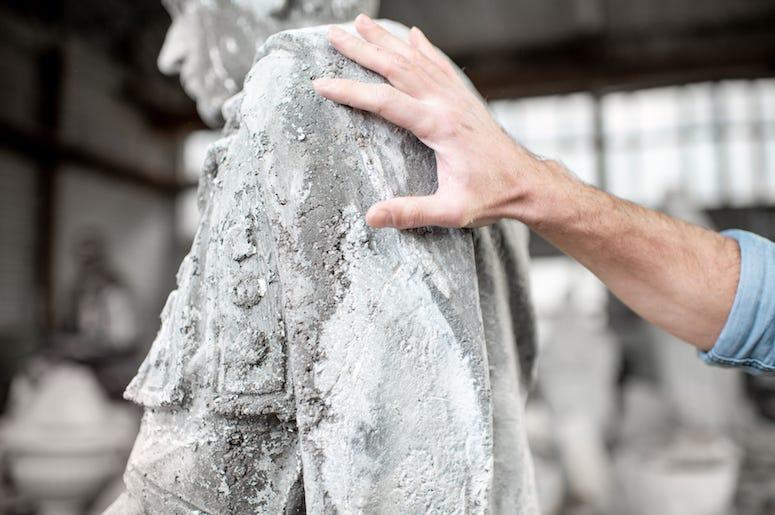 Sculptor, Touch, Sculpture, Statue, Stone