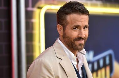 Ryan Reynolds at Detective Pikachu movie premiere