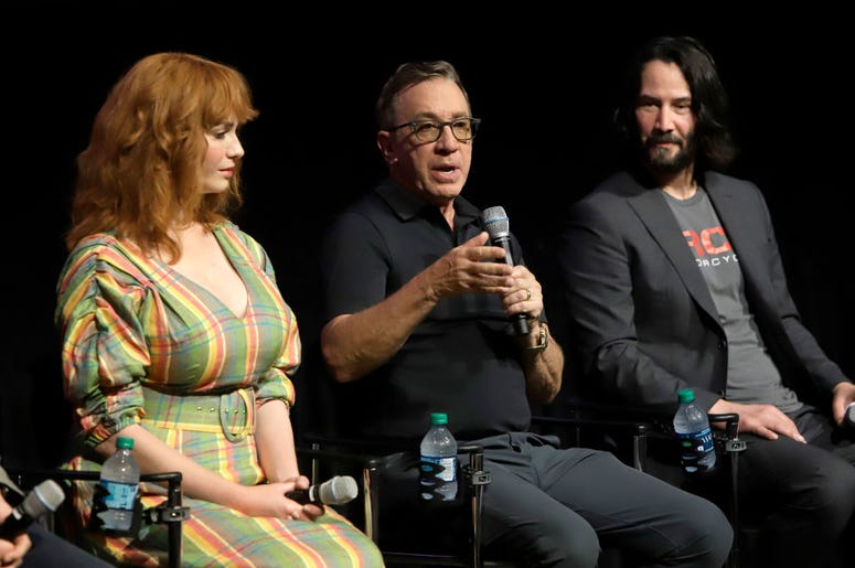 Christina Hendricks, Tim Allen & Keanu Reeves