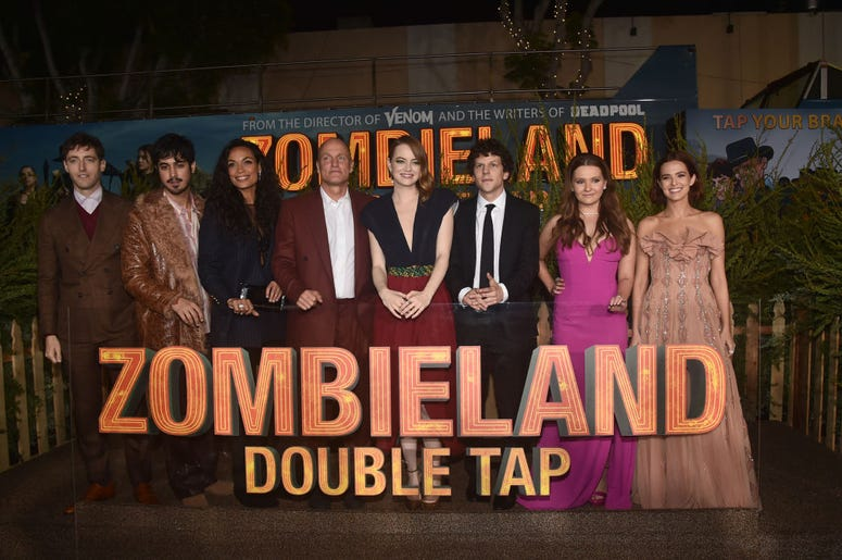 Cast of Zombieland Double Tap