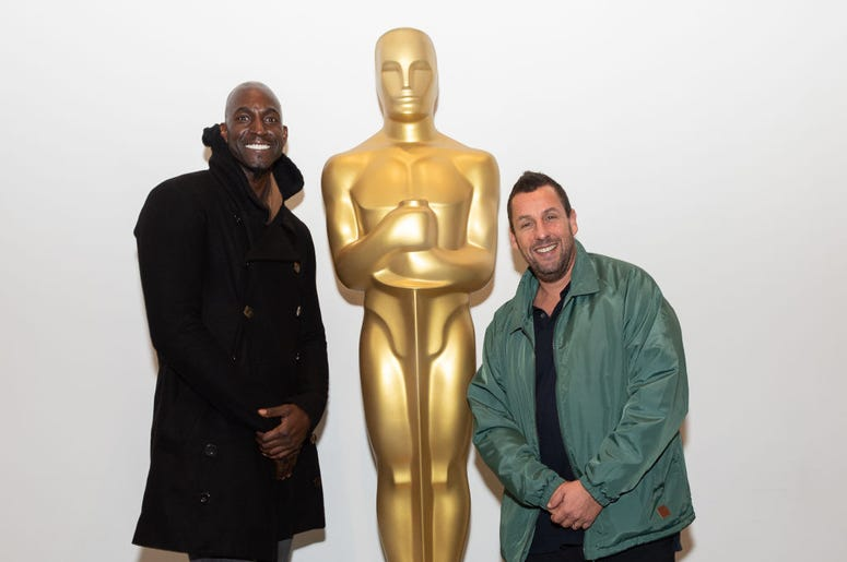 Adam Sandler And Kevin Garnett