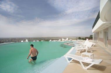 Man, Speedo, Swimming, Pool, Europe