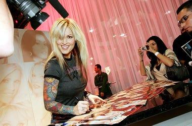 Janine from Blink 182's Album Cover in 2005