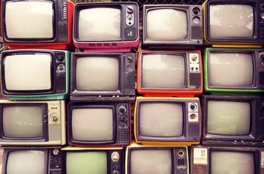 Wall of TV's