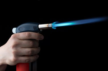 Blowtorch, Flame, Manual Gas Burner
