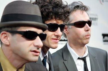 Adam Horovitz, Mike Diamond and Adam Yauch of the Beastie Boys