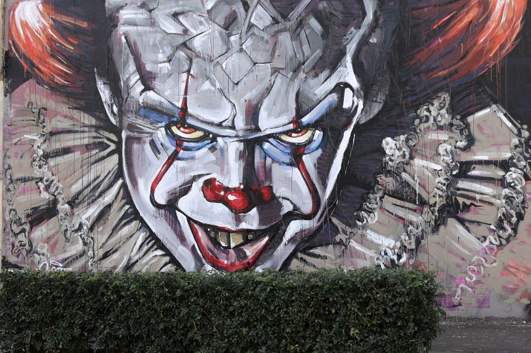 Pennywise Mural