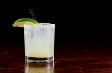 Margarita, On The Rocks, Fresh Lime, Dark Restaurant