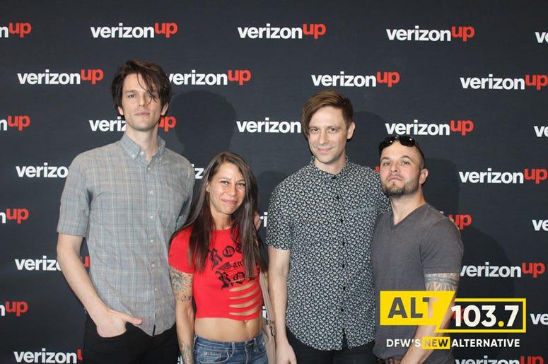iDKHow But They Found Me Meet & Greet At Verizon Artist Lounge At ALT 103.7 Studios
