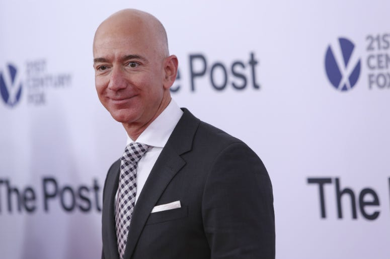Jeff Bezos,Salary,Median,Amazon,10 Seconds,Money,Rich,Executives,CEO,Radio,Employees,ALT 103.7