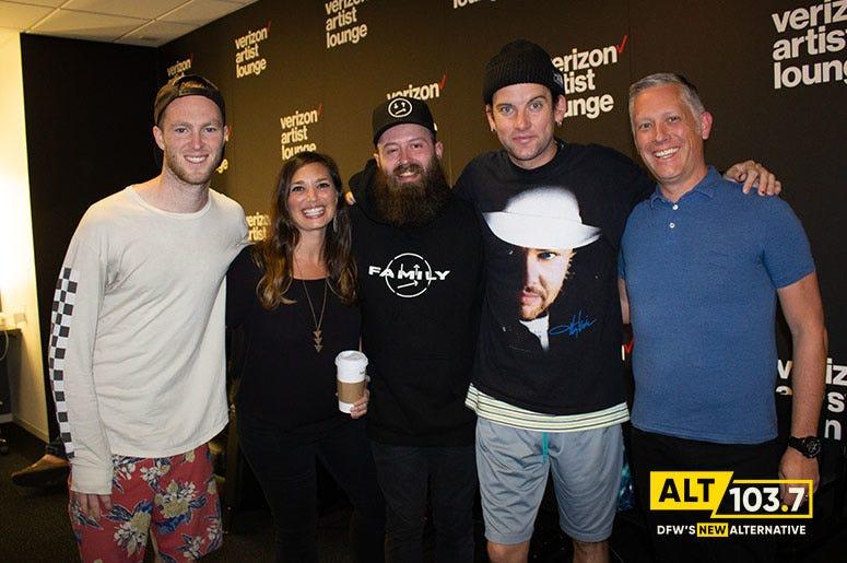 Judah & The Lion Meet & Greet At The Verizon Artist Lounge