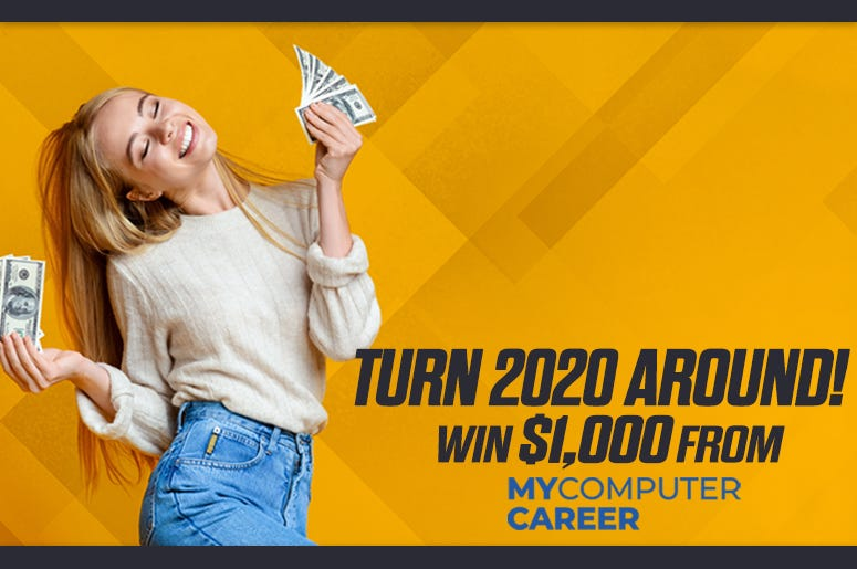 My Computer Career and ALT 103.7 want to help you through 2020 by giving you a $1,000!