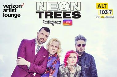 neon trees ig live