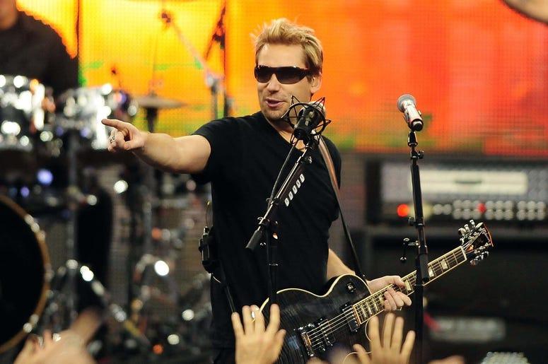 Nickelback frontman Chad Kroeger