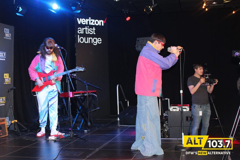 Oliver Tree Live At Verizon Artist Lounge