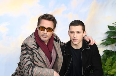 Robert Downey Jr. and Tom Holland