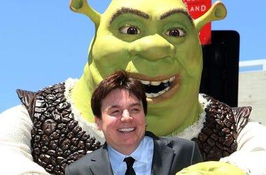 Mike Meyers And Shrek